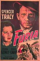 Fury - Argentinian Movie Poster (xs thumbnail)