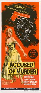 Accused of Murder - Australian Movie Poster (xs thumbnail)