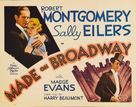 Made on Broadway - Movie Poster (xs thumbnail)