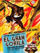 Mighty Joe Young - Spanish Movie Poster (xs thumbnail)