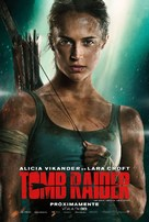 Tomb Raider - Mexican Movie Poster (xs thumbnail)