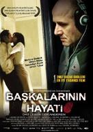 Das Leben der Anderen - Turkish Movie Poster (xs thumbnail)