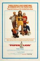 Paper Lion - Movie Poster (xs thumbnail)