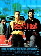 Boyz N The Hood - French Movie Poster (xs thumbnail)