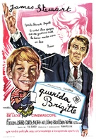 Dear Brigitte - Spanish Movie Poster (xs thumbnail)