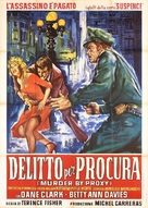 Murder by Proxy - Italian Movie Poster (xs thumbnail)