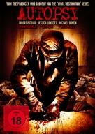 Autopsy - German DVD movie cover (xs thumbnail)
