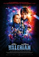 Valerian and the City of a Thousand Planets - Andorran Movie Poster (xs thumbnail)