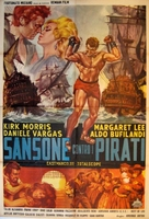 Sansone contro i pirati - Italian Movie Poster (xs thumbnail)