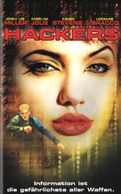 Hackers - German VHS movie cover (xs thumbnail)