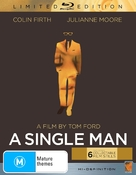 A Single Man - Australian Blu-Ray movie cover (xs thumbnail)
