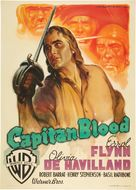 Captain Blood - Italian Movie Poster (xs thumbnail)