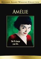 Le fabuleux destin d'Amélie Poulain - DVD cover (xs thumbnail)