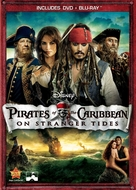 Pirates of the Caribbean: On Stranger Tides - DVD movie cover (xs thumbnail)