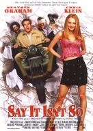 Say It Isn't So - Movie Poster (xs thumbnail)