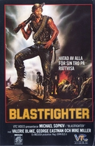Blastfighter - Swedish VHS cover (xs thumbnail)