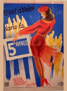 It Happened on 5th Avenue - French Movie Poster (xs thumbnail)