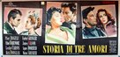 The Story of Three Loves - Italian Movie Poster (xs thumbnail)