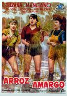 Riso amaro - Spanish Movie Poster (xs thumbnail)