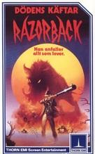 Razorback - Norwegian VHS cover (xs thumbnail)