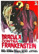 Drácula contra Frankenstein - Spanish Movie Poster (xs thumbnail)