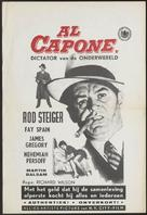 Al Capone - Dutch Movie Poster (xs thumbnail)