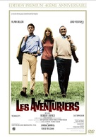 Les aventuriers - French DVD cover (xs thumbnail)
