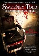 Sweeney Todd - Brazilian DVD movie cover (xs thumbnail)