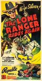 The Lone Ranger Rides Again - Movie Poster (xs thumbnail)