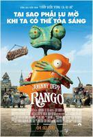 Rango - Vietnamese Movie Poster (xs thumbnail)