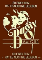 Bugsy Malone - German Movie Poster (xs thumbnail)
