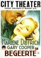 Desire - Dutch Movie Poster (xs thumbnail)
