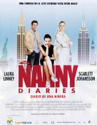 The Nanny Diaries - Spanish poster (xs thumbnail)