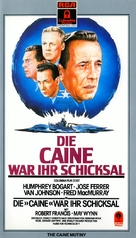 The Caine Mutiny - German VHS cover (xs thumbnail)