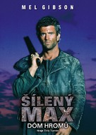 Mad Max Beyond Thunderdome - Czech DVD movie cover (xs thumbnail)