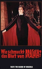 Taste the Blood of Dracula - German VHS movie cover (xs thumbnail)