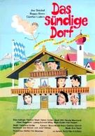 Das sündige Dorf - German Movie Poster (xs thumbnail)