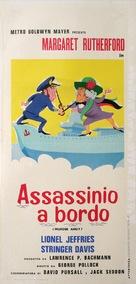 Murder Ahoy - Italian Movie Poster (xs thumbnail)