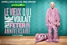 Hundraåringen som klev ut genom fönstret och försvann - French Movie Poster (xs thumbnail)