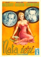 Born Yesterday - Italian Movie Poster (xs thumbnail)