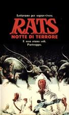 Rats - Notte di terrore - Italian VHS cover (xs thumbnail)