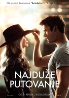 The Longest Ride - Serbian Movie Poster (xs thumbnail)