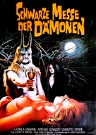 L'anticristo - German Movie Poster (xs thumbnail)