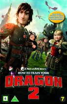 How to Train Your Dragon 2 - Danish DVD movie cover (xs thumbnail)