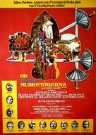 The Four Musketeers - Swedish Movie Poster (xs thumbnail)