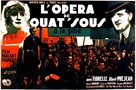 L'opéra de quat'sous - French Movie Poster (xs thumbnail)