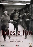 Jules Et Jim - Brazilian DVD movie cover (xs thumbnail)