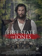 Free State of Jones - French Movie Poster (xs thumbnail)