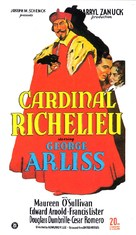 Cardinal Richelieu - Movie Poster (xs thumbnail)