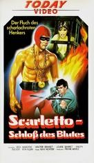 Il boia scarlatto - German VHS movie cover (xs thumbnail)